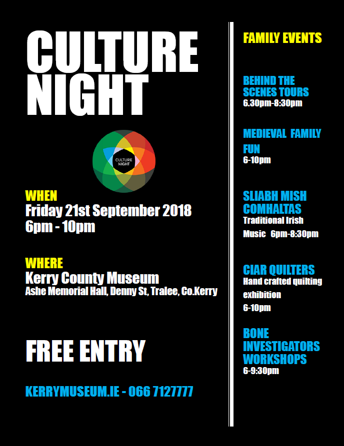 culture night poster 2018