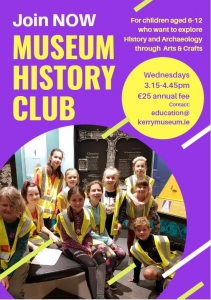 Join History Club poster
